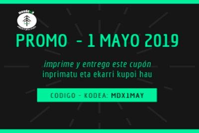 Promoción 1 de Mayo Mendexa Abentura Park