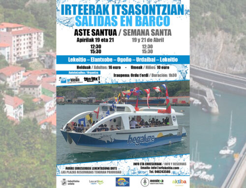 Semana Santa: Salida en barco desde Lekeitio
